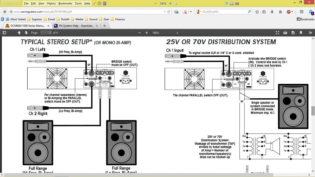 pa system help gearslutz pro audio community rh gearslutz com pa system speaker wiring diagram school pa system wiring diagram
