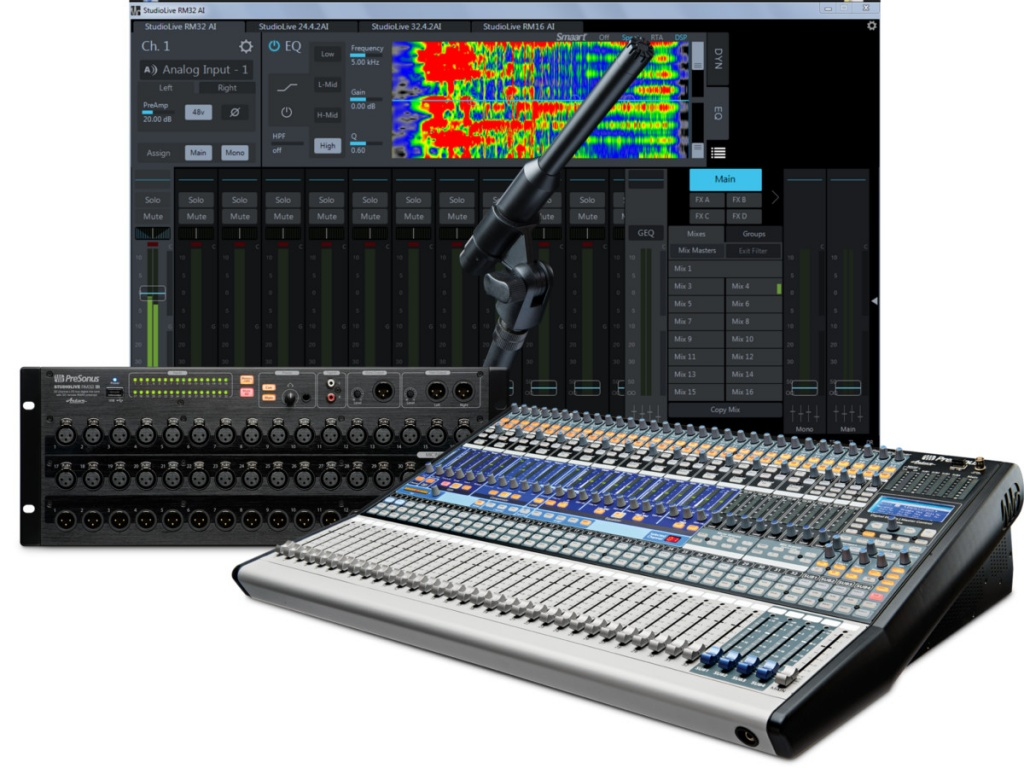 uc surface 1 3 brings new features to studiolive ai and rm mixers gearslutz. Black Bedroom Furniture Sets. Home Design Ideas