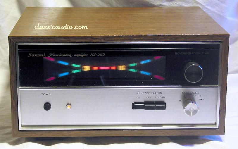Sansui Ra 500 Reverb Amp On Mix Desk Ra500 Jpg