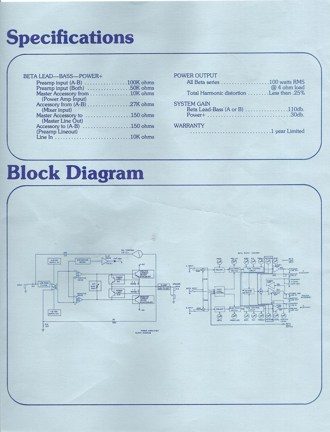 Sunn Beta Bass Combo Manual Gearslutz 01v96 Block Diagram Betabass2