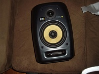 If the middle of a woofer on a monitor is dented, but not punctured...-krk1.jpg