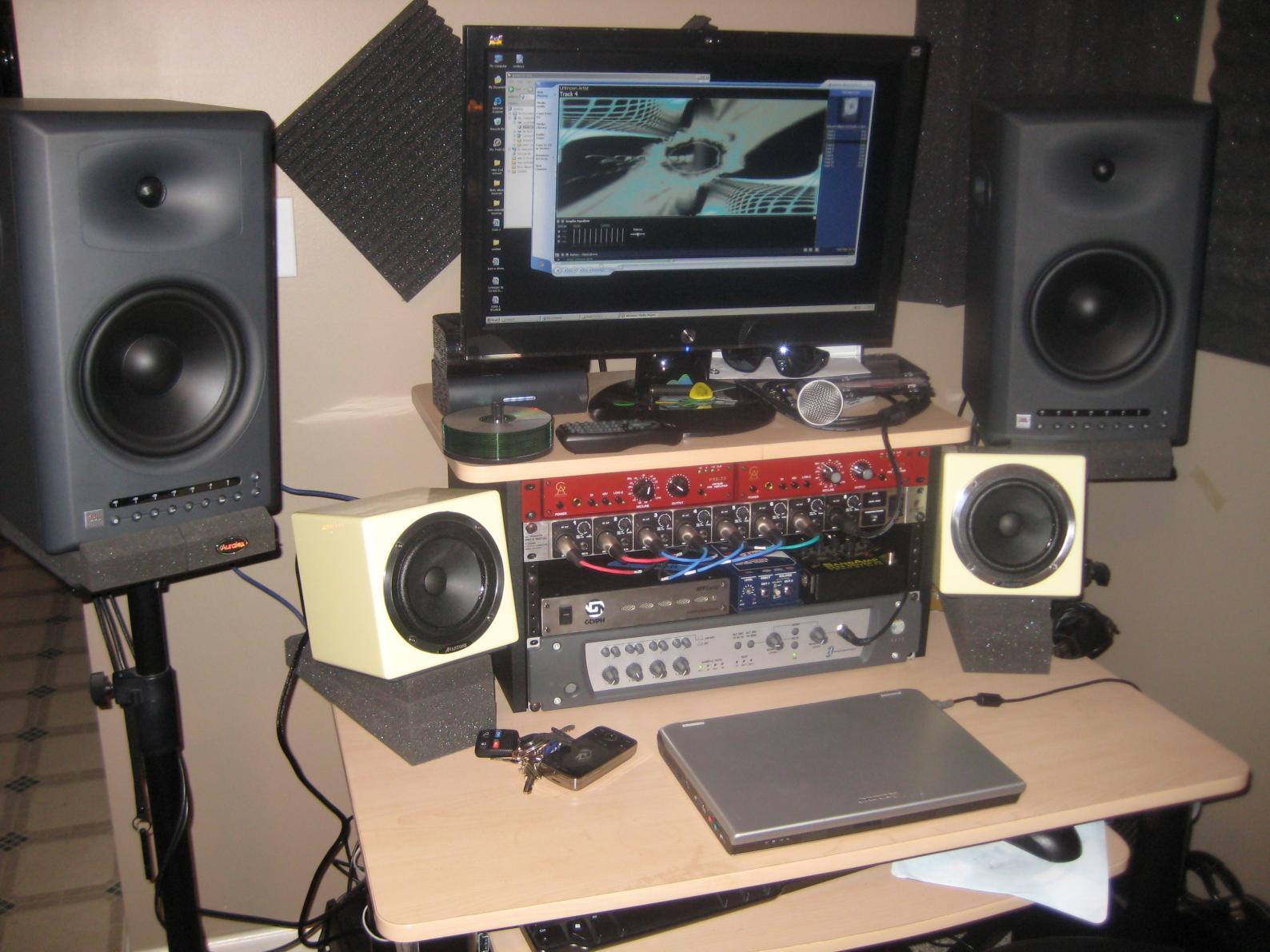 JBK LSR 4328 Studio Monitors