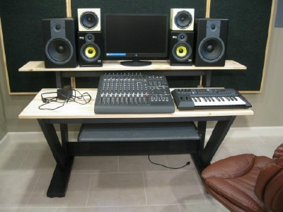 U0026quot;LOW COSTu0026quot; DIY Studio Desk Desk Design Findeskw Equipq6.