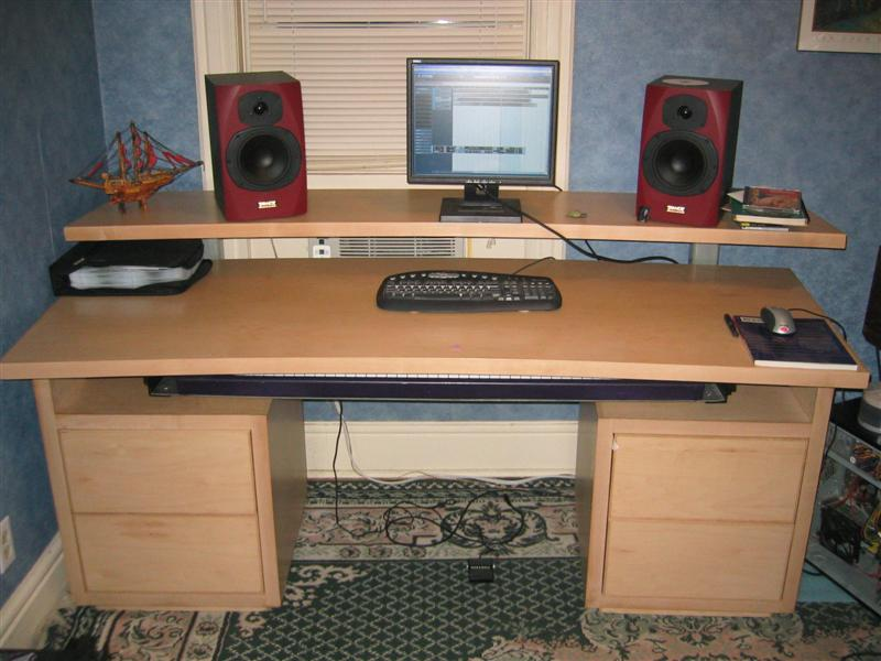 PICs of your homemade station desk!! - Page 2 - Gearslutz Pro Audio ...