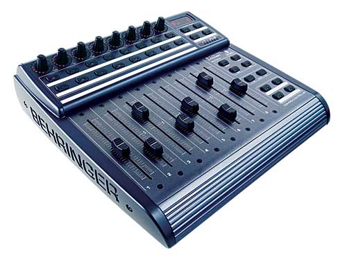 Behringer 8 Motorized Faders Control Surface Damm Cheap