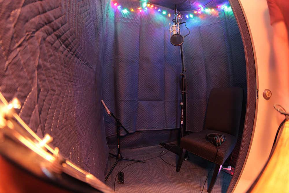 Booth1 Using A Closet As A Vocal Booth? Booth2