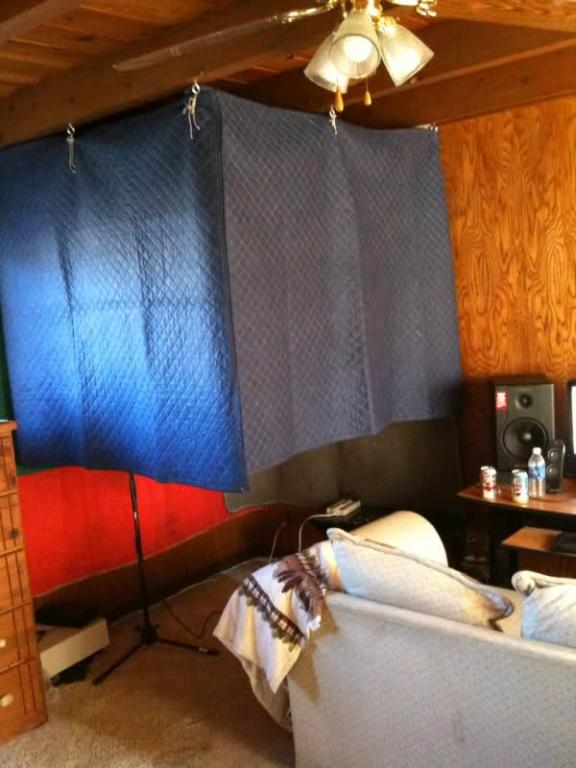 Moving Blankets For Soundproofing Gearslutz Pro Audio