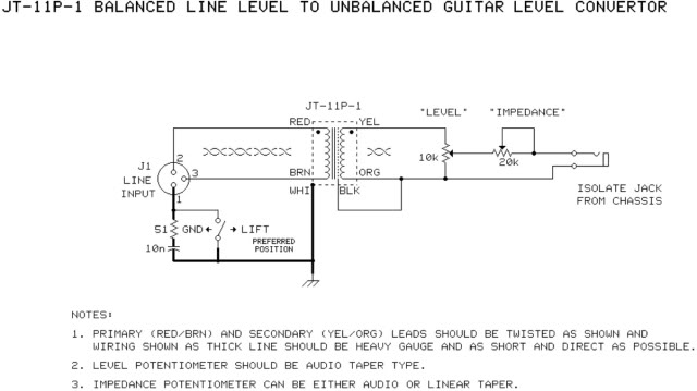 looking for a good diy passive re amp schematic gearslutz. Black Bedroom Furniture Sets. Home Design Ideas