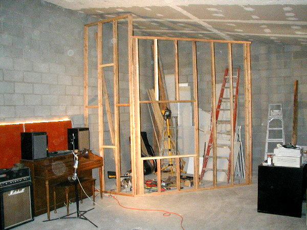 how to build a vocal booth out of wood
