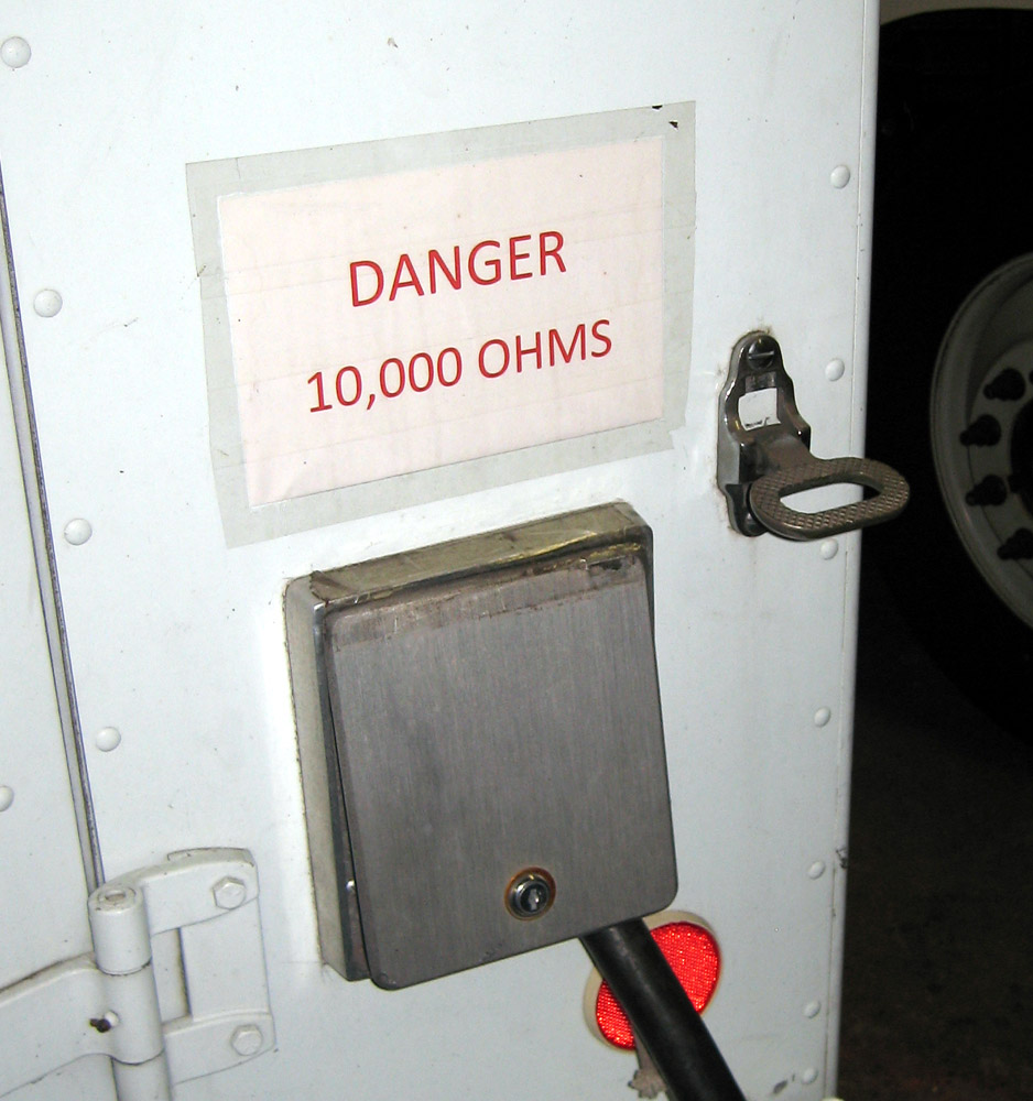 Weather Proof Cable Access Door?