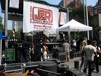 """Remoteness and The Bread Mobile"" during J&R's 2007 MusicFest-j-rearlybackstage.jpg"