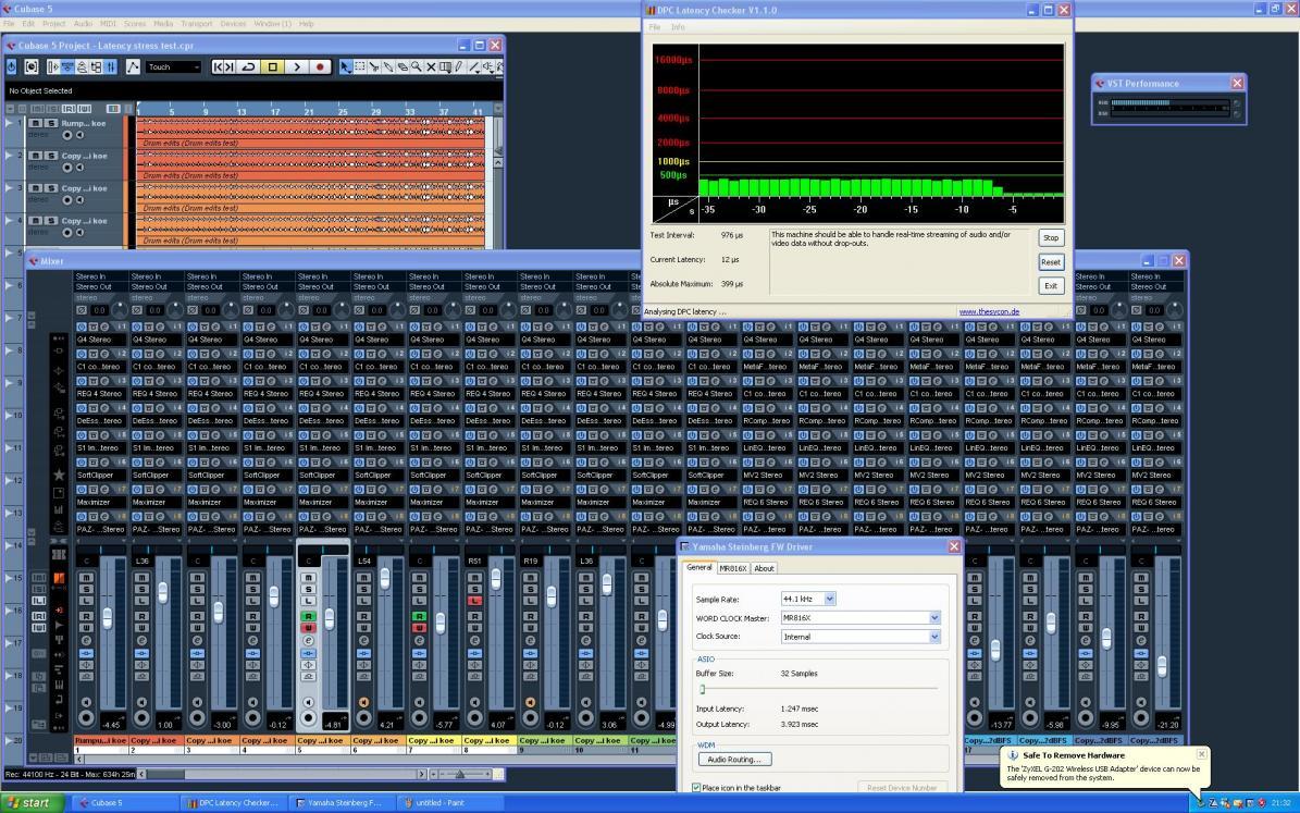 Vst audio system asio