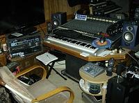 My custom built production desk with a sliding 88 key controller-hpim0487.jpg