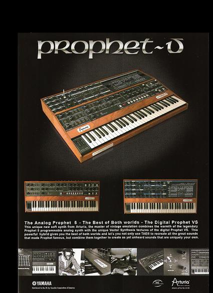 arturia prophet 5 prophet vs software gearslutz pro audio community. Black Bedroom Furniture Sets. Home Design Ideas