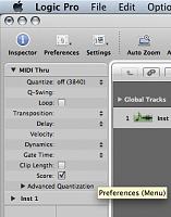 How do I turn off MIDI input quantize in Logic?-billede-1.png