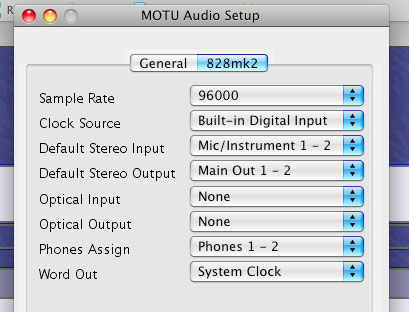 MOTU 828 mkII USB crackle - Gearslutz