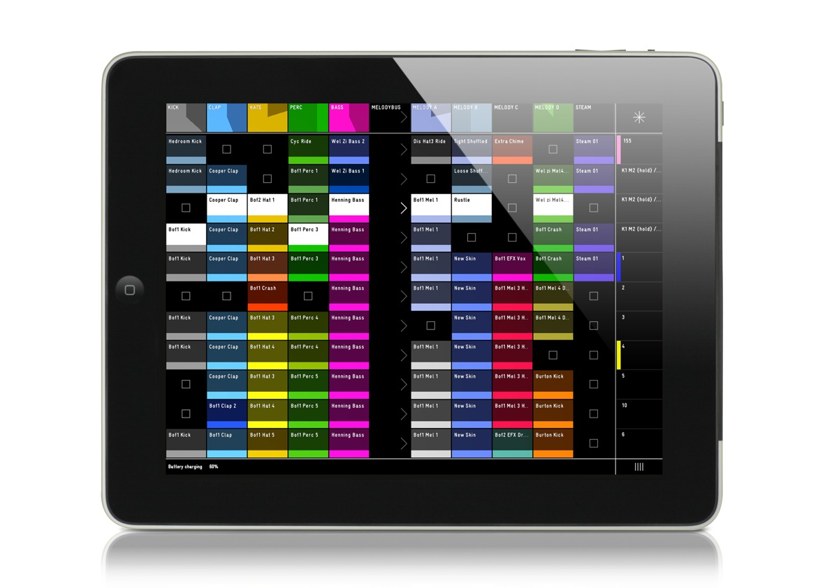 griid the ableton live control system is now on app store. Black Bedroom Furniture Sets. Home Design Ideas