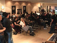 Digidesign present HD 7.2 at KMR Audio evening, London, UK 25th May 2006-packed-house-1.jpg
