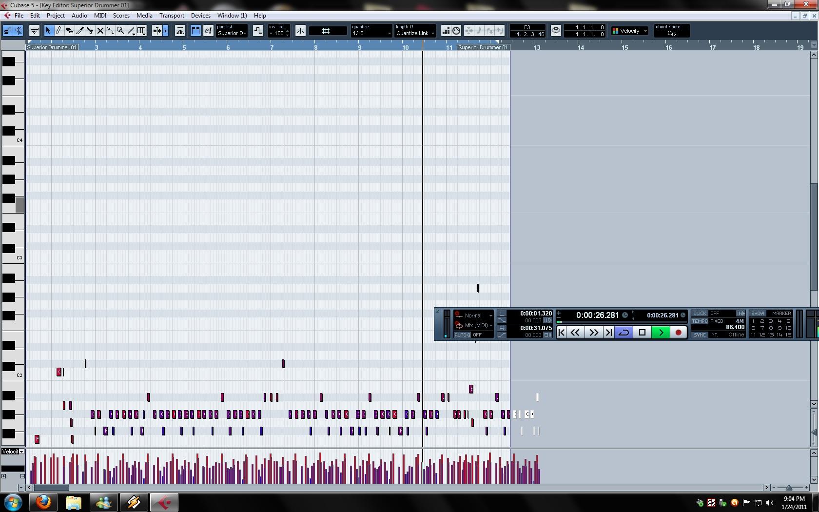 MIDI Keyboard Velocity Issues (M-Audio Keystation 61es) - Gearslutz