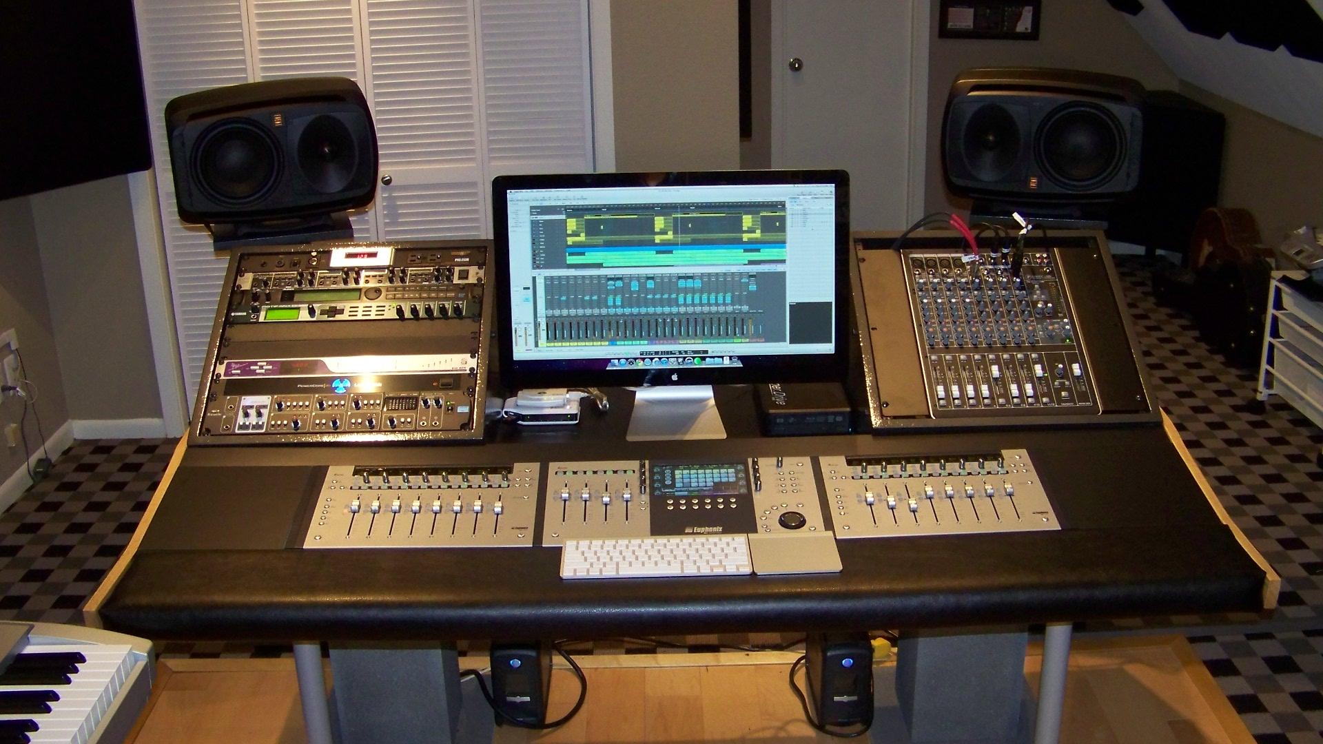 building a poor 39 s man euphonix system 5 mc w pics page 7 gearslutz pro audio community. Black Bedroom Furniture Sets. Home Design Ideas