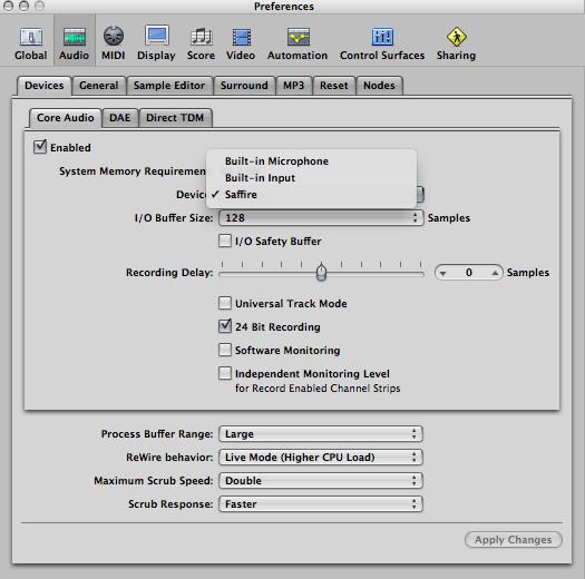 Focusrite Saphire Pro 40 - Connection issues - Gearslutz