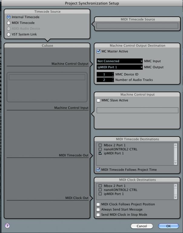Cubase MMC Sync with Pro Tools - Gearslutz