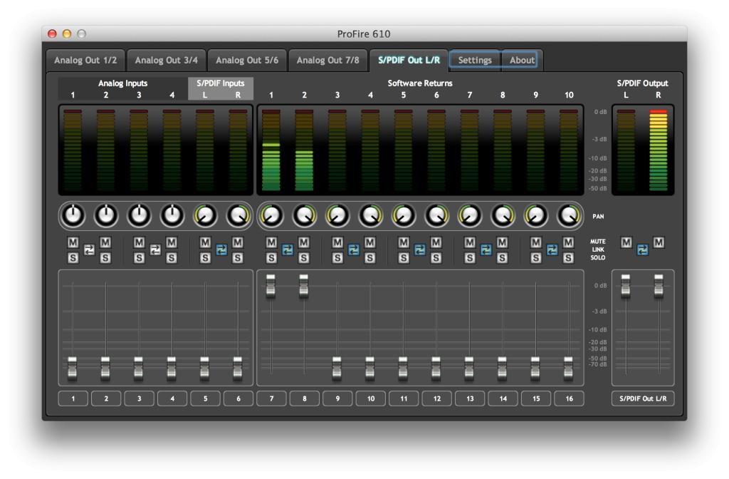 m-audio profire 610 driver download for mac