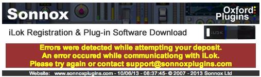 WARNING * - Do NOT install new iLok software! - Gearslutz