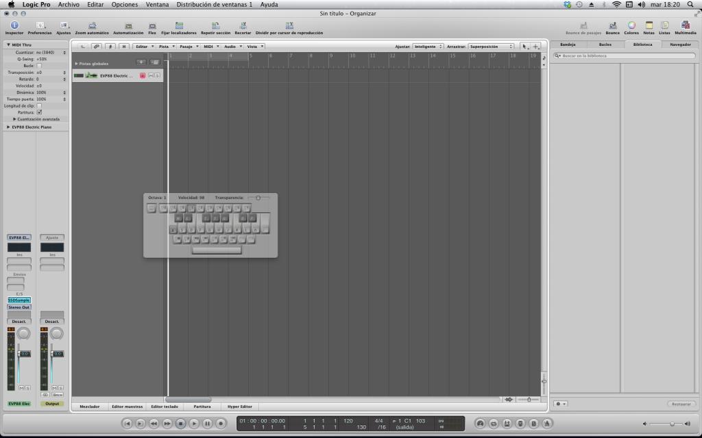 Logic 9 P Symbol In The Transport Bar Gearslutz Pro Audio