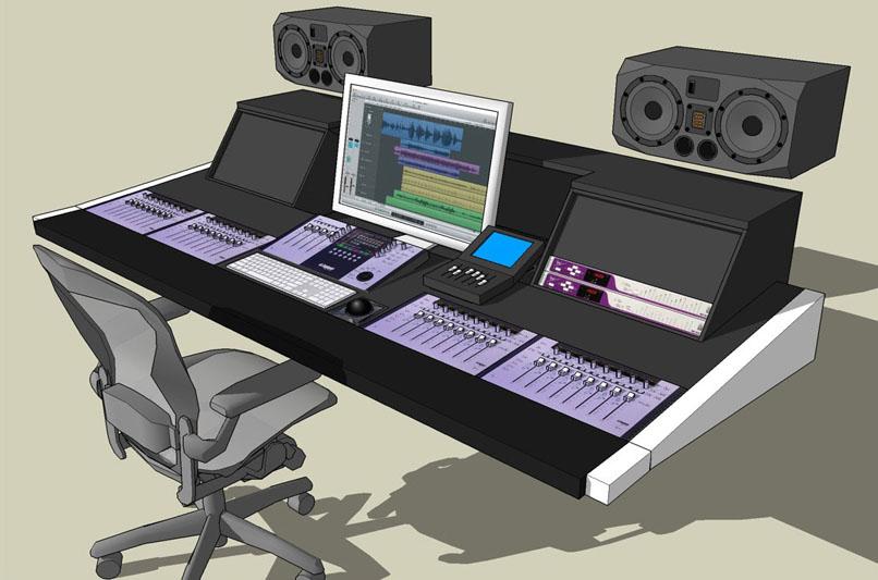 building a poor 39 s man euphonix system 5 mc w pics gearslutz pro audio community. Black Bedroom Furniture Sets. Home Design Ideas