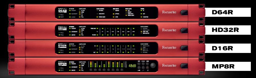 Networked Audio: Dante, AVB, SoundGrid, Ravenna, MADI