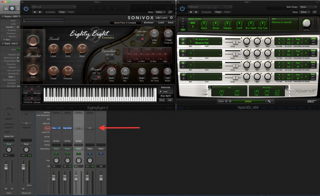 Xpand!2 and EightyEight Plug-Ins on Logic Pro X - Gearslutz