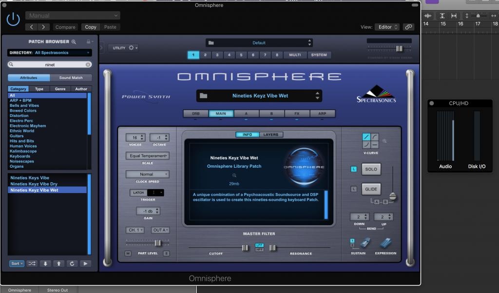 Omnisphere 2 optimization or hardware recommendations
