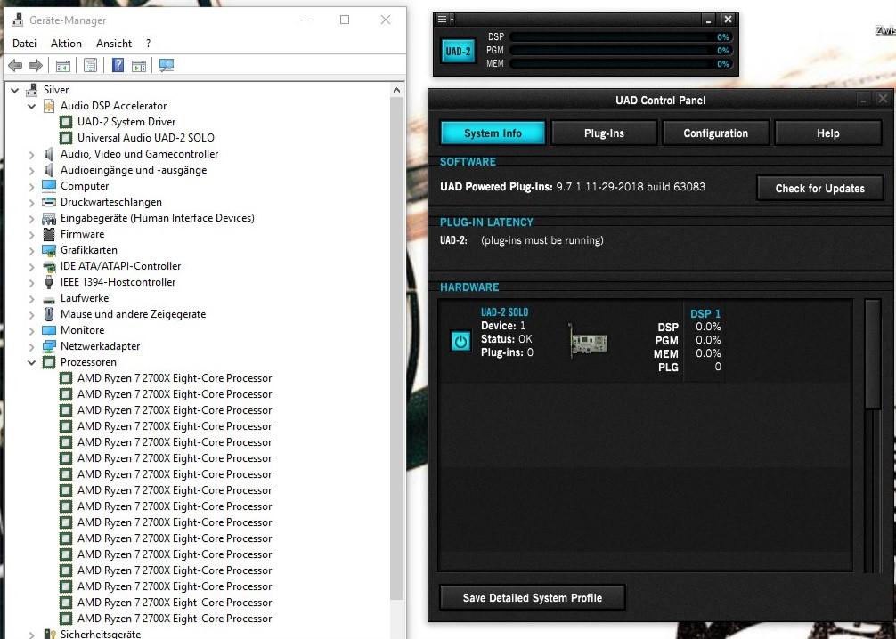 The AMD Ryzen & UAD 2 Thread - Gearslutz