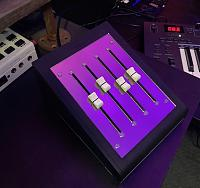 DIY MIDI CC Controller w/100mm sliders for under 0 - 2018 Edition-finished.jpg