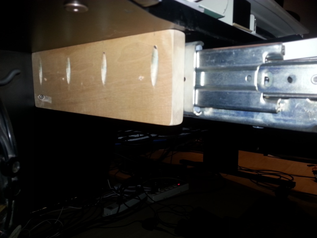 Fabriquer Un Tiroir Coulissant construction d'un meuble avec tiroir pour clavier 88 touches