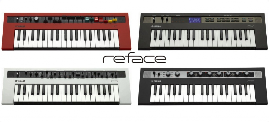 Yamaha announces Reface: CS, DX, CP and YC mini keyboards