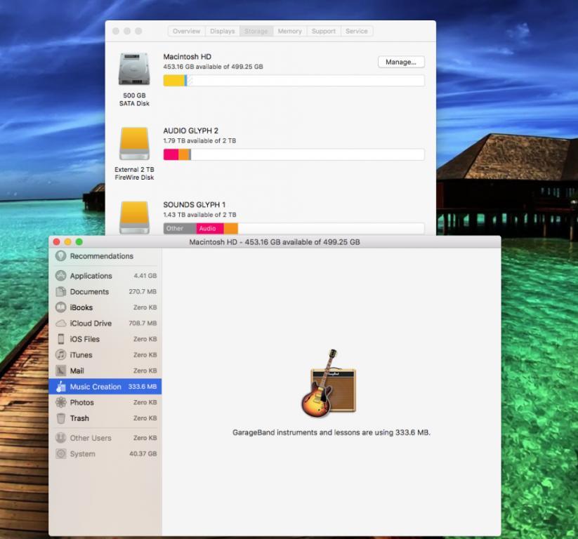 Can not delete garage band files ? - Gearslutz