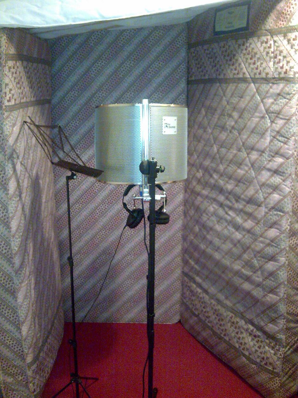 My Makeshift Vocal Booth Gearslutz Pro Audio Community