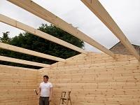 Practice Pad Drum Studio-roof-beams.jpg