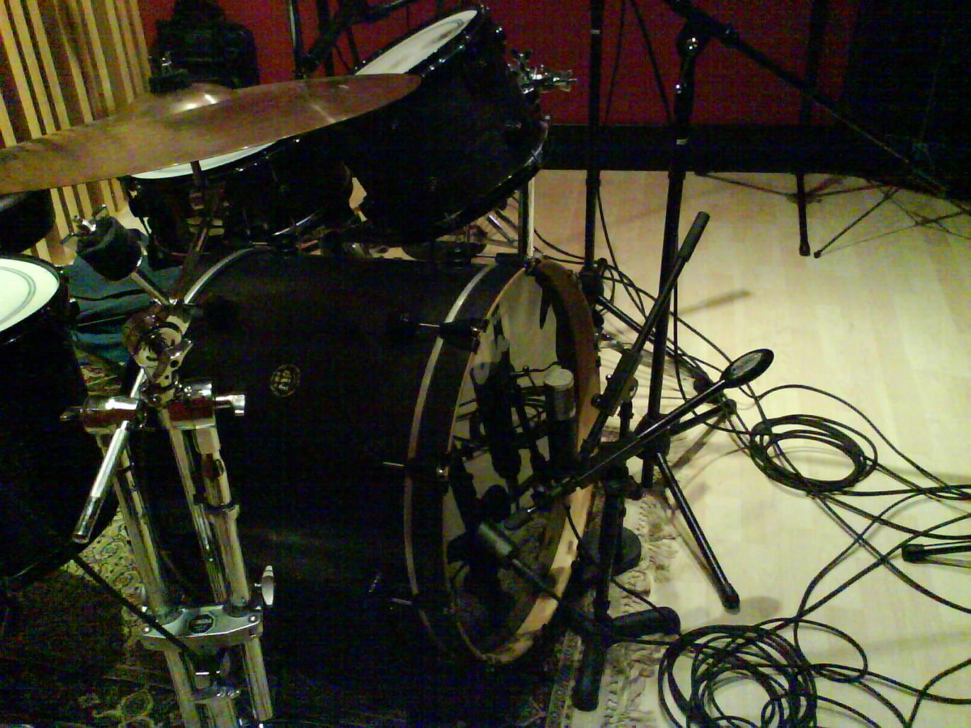 Recording Drums In A Small Dead Room