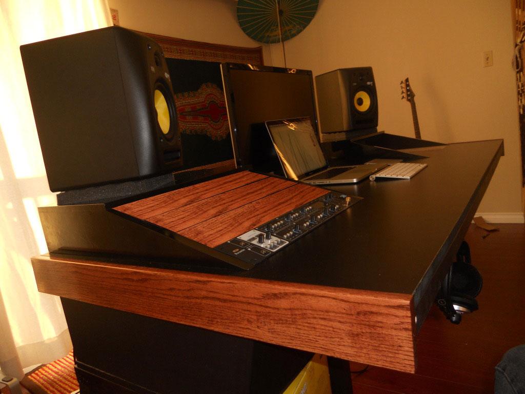 Mixing Desk Table Digidesign D Post Production Desk Diy Music Studio Desk Avid S6 M10 8