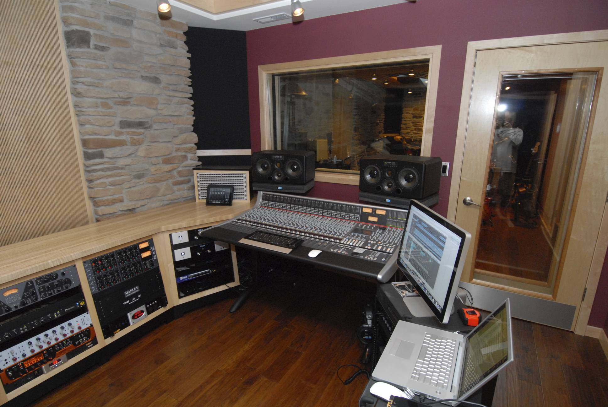 Grendel 39 s lair studio 7 basement project page 5 for Music studio flooring
