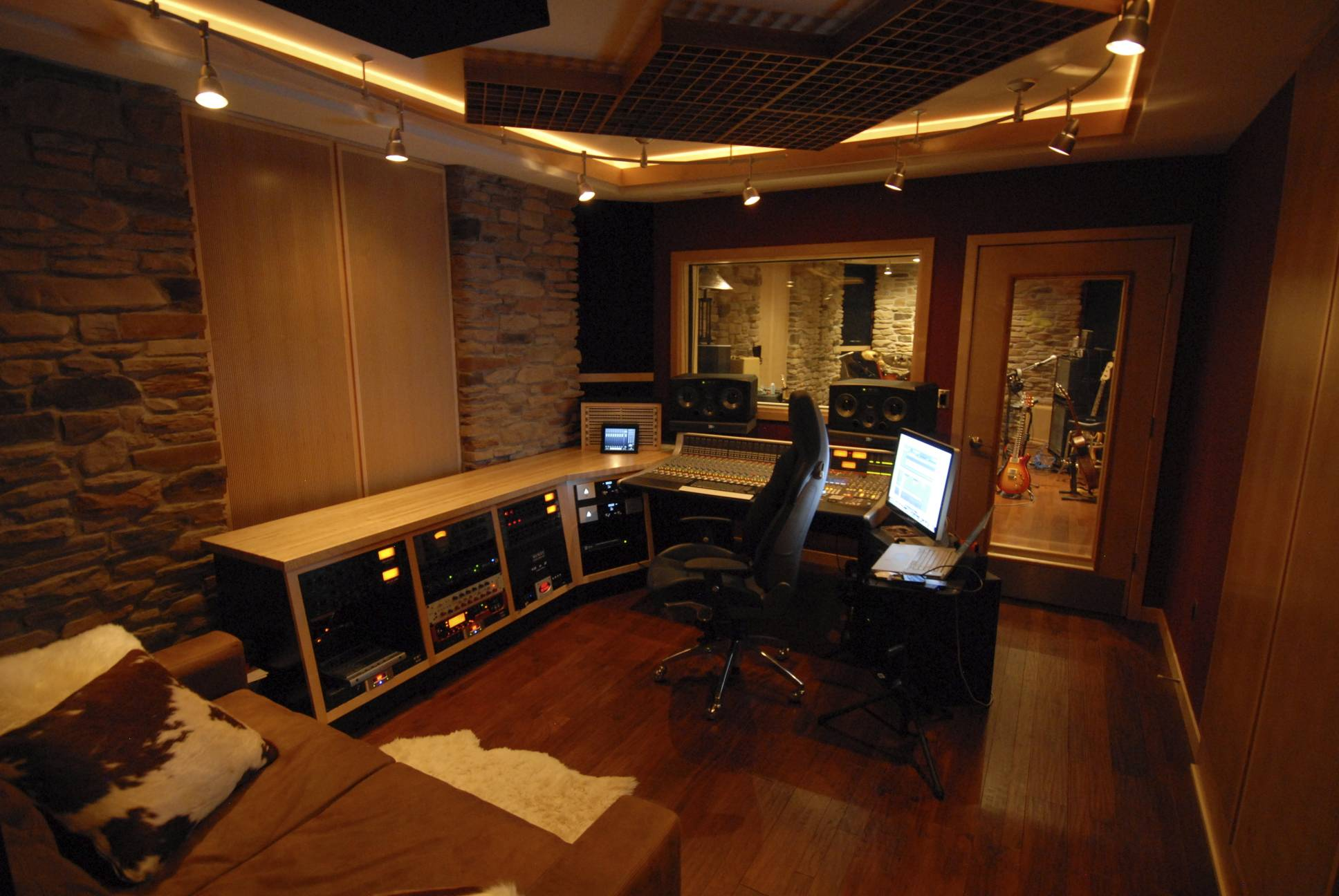 Grendel 39 s lair studio 7 basement project page 5 for Best flooring for recording studio