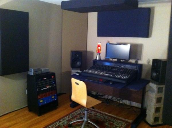 Small home recording studio design my site for Small recording studio plans