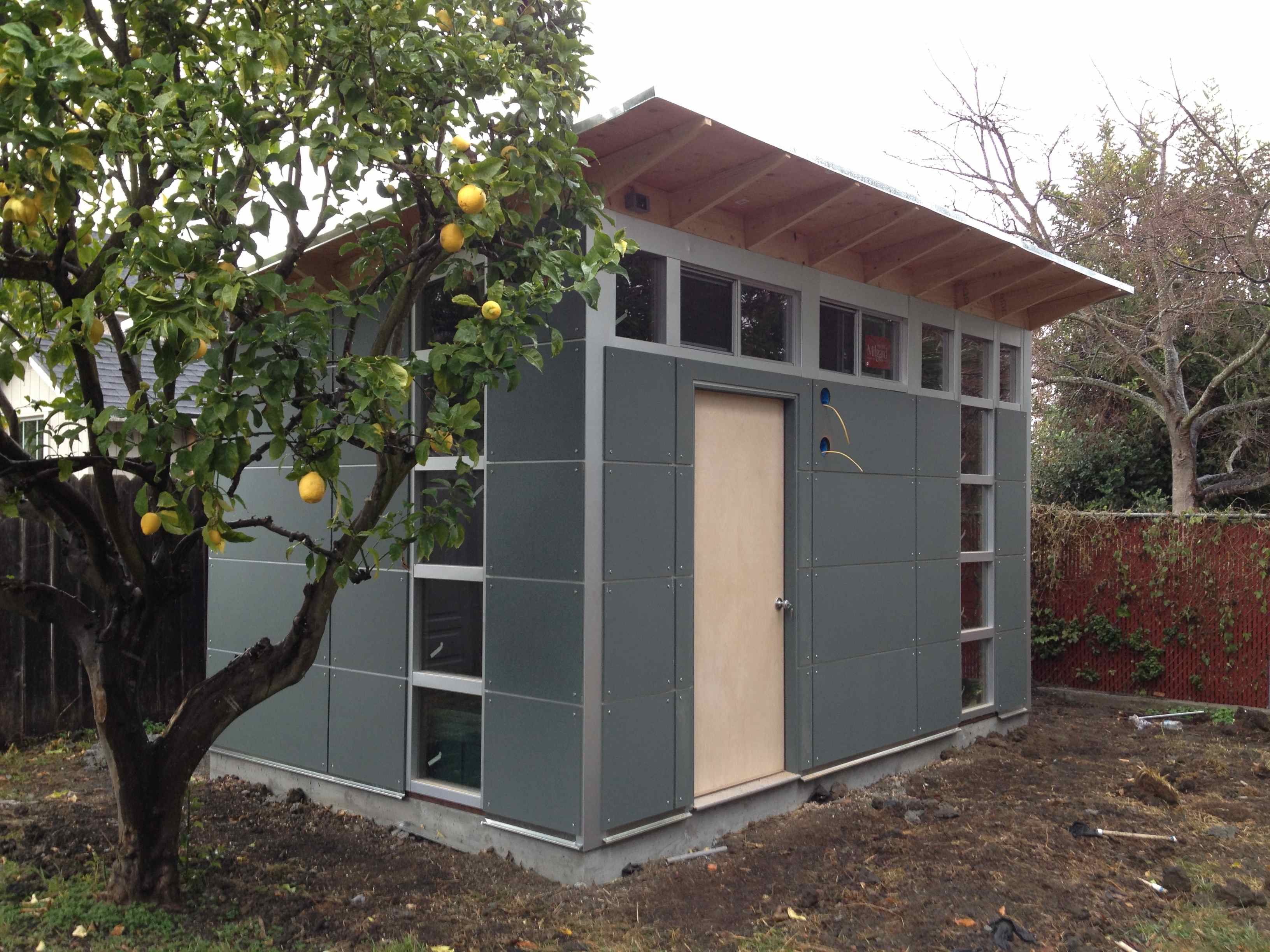 modern backyard of contemporary cost sheds studio image beautiful client top awesome blueprints shed pic ideas bathroom with result office
