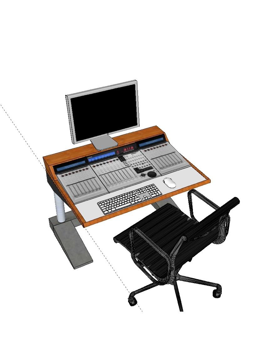 Mackie Universal Pro Desk Build Gearslutz Com