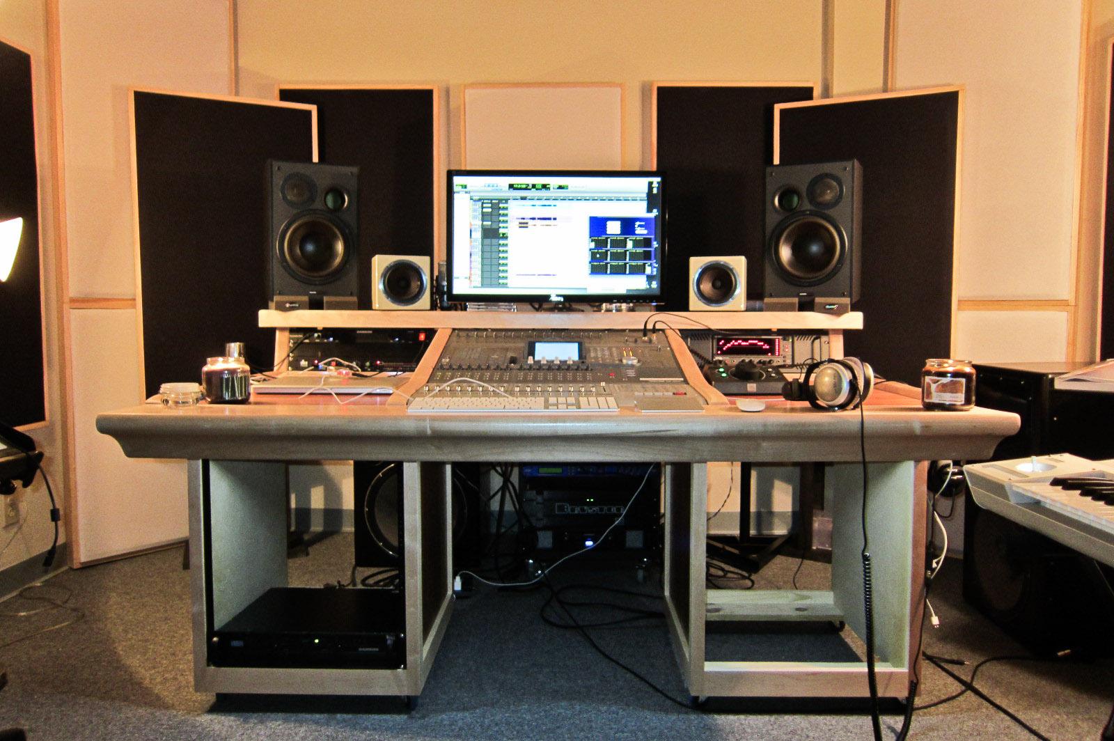 Mixer Desk For Tascam Dm 3200 Self Made Gearslutz Com