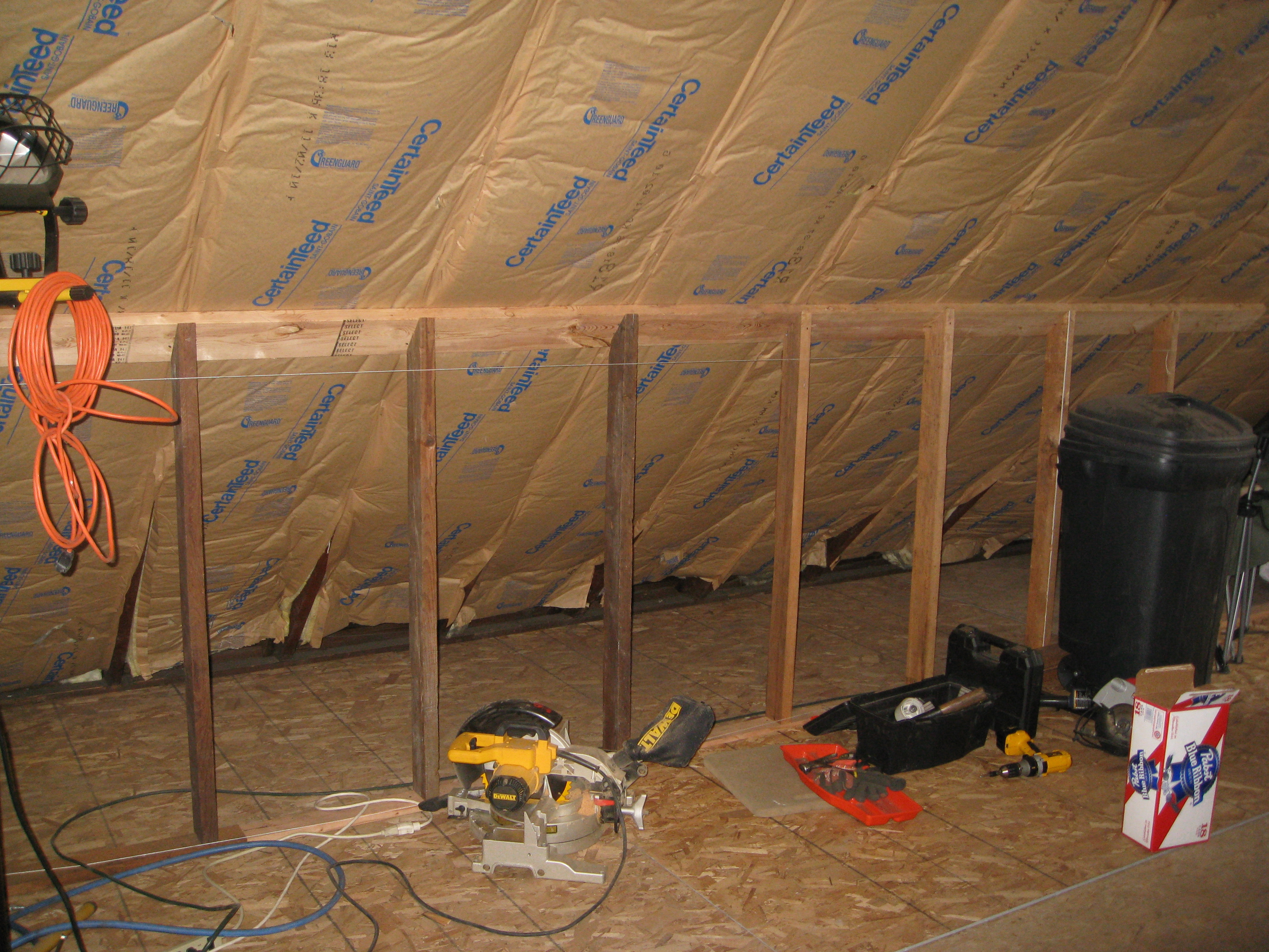 how to build a room in attic