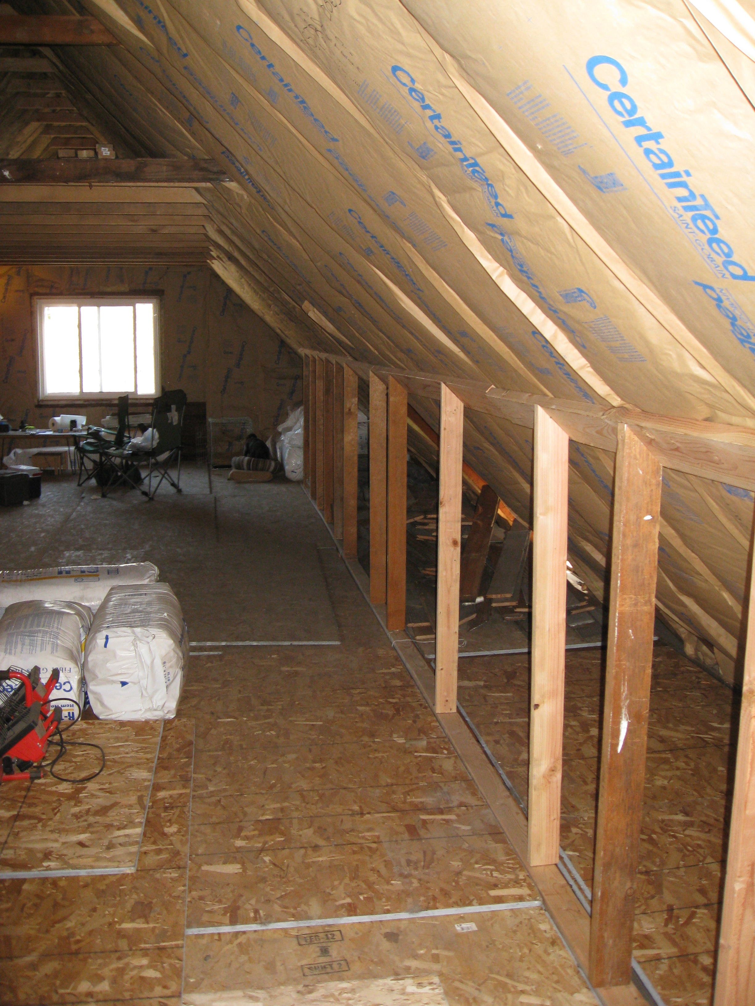 attic finishing ideas - RFZ based control room in an A frame attic Page 2
